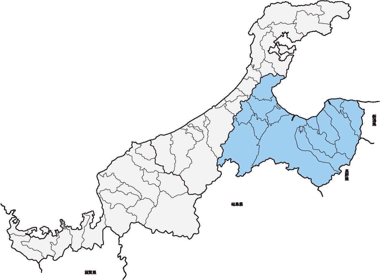 hokuriku map